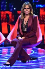 PAOLA PEREGO and AIDA YESPICA at Superbrain TV Show in Rome 01/19/2018