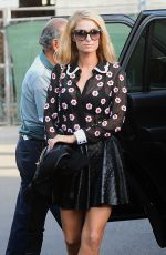 PARIS HILTON Heading to a Beauty Salon in Beverly Hills 01/18/2018