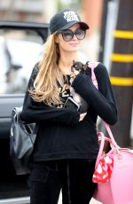 PARIS HILTON Out and About in Beverly Hills 01/19/2018