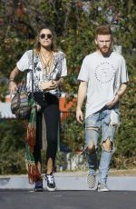 PARIS JACKSON Out for Lunch at Leo&Lily in Woodland Hills 01/24/2018