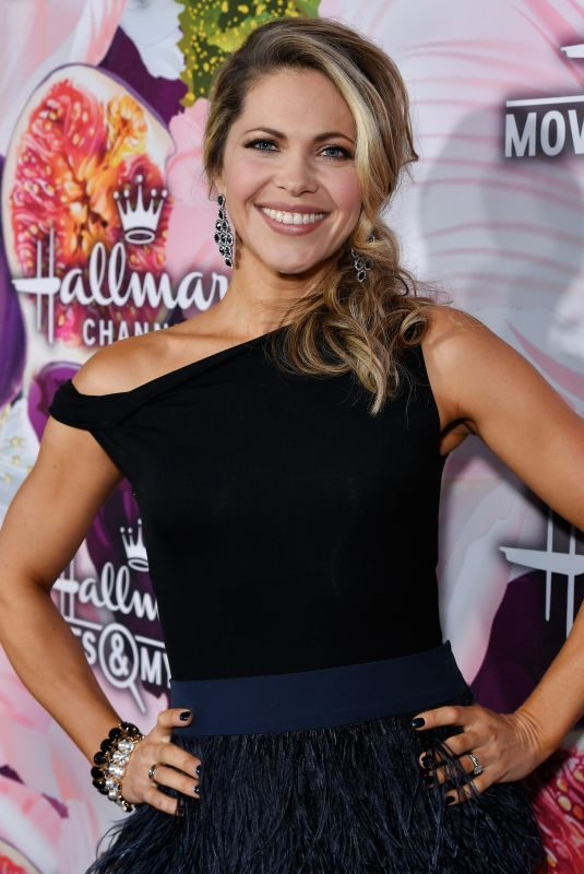 PASCALE HUTTON at Hallmark Channel All-star Party in Los Angeles 01/13/2018