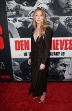 PATEN HUGHES at Den of Thieves Premiere in Los Angeles 01/17/2018