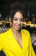 PEARL MCKIE at The Birthday Party Play Press Night in London 01/18/2018