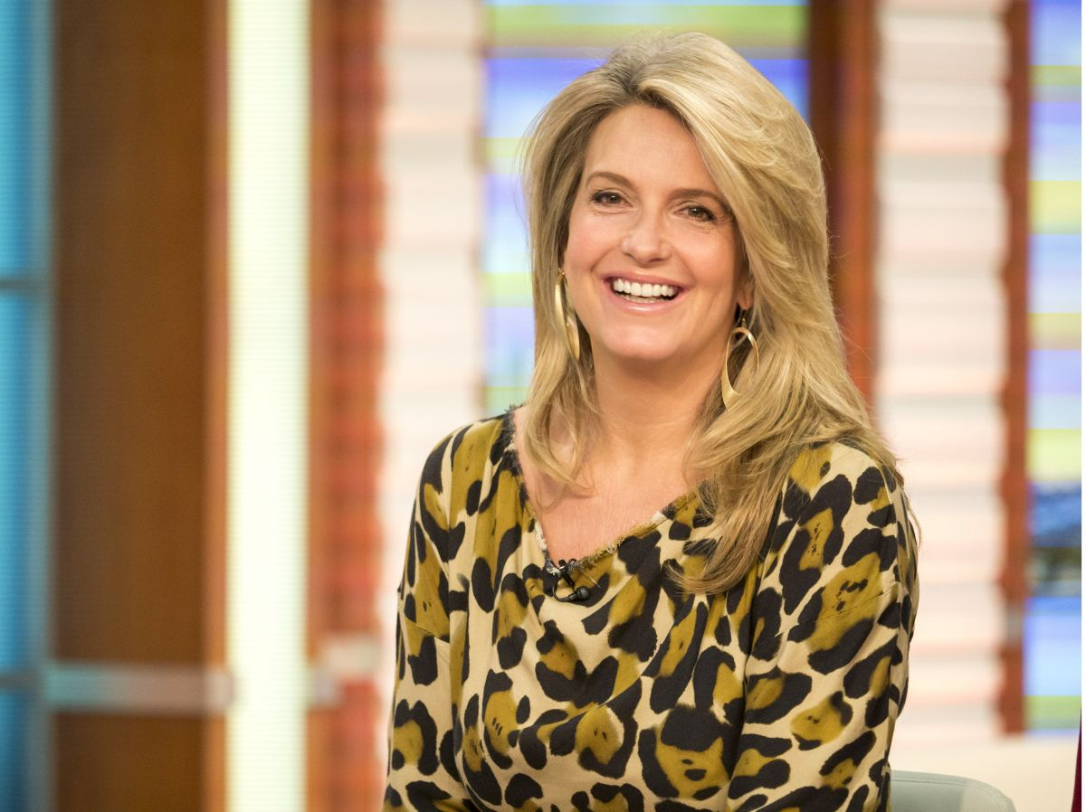 Penny Lancaster: PENNY LANCASTER At Good Morning Britain Show In London 01