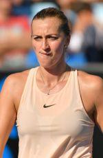 PETRA KVITOVA at Australian Open Tennis Tournament in Melbourne 01/16/2018