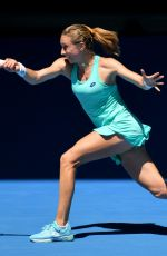 PETRA MARTIC at Australian Open Tennis Tournament in Melbourne 01/19/2018