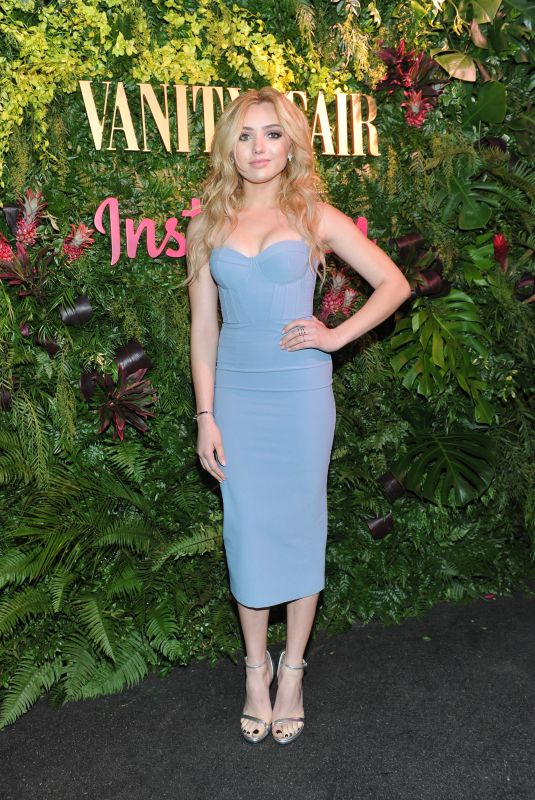 PEYTON ROI LOST at Vanity Fair Celebrate New Class of Entertainers in West Hollywood 01/06/2018