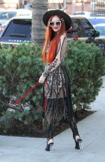 PHOEBE PRICE Out and About in Beverly Hills 01/11/2018
