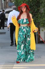 PHOEBE PRICE Shows Off Diamond Grill in Beverly Hills 01/17/2018