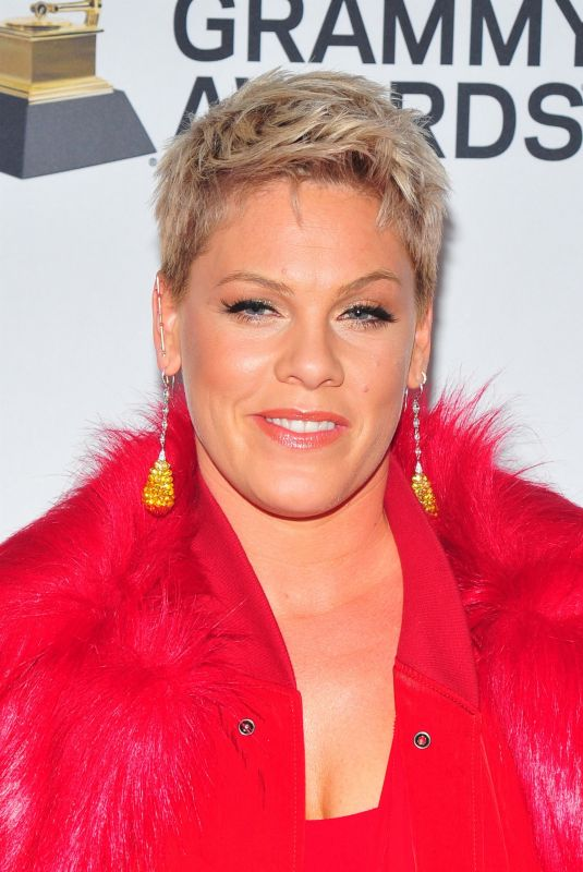 PINK at Clive Davis and Recording Academy Pre-Grammy Gala in New York 01/27/2018