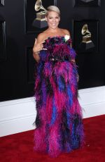 PINK at Grammy 2018 Awards in New York 01/28/2018