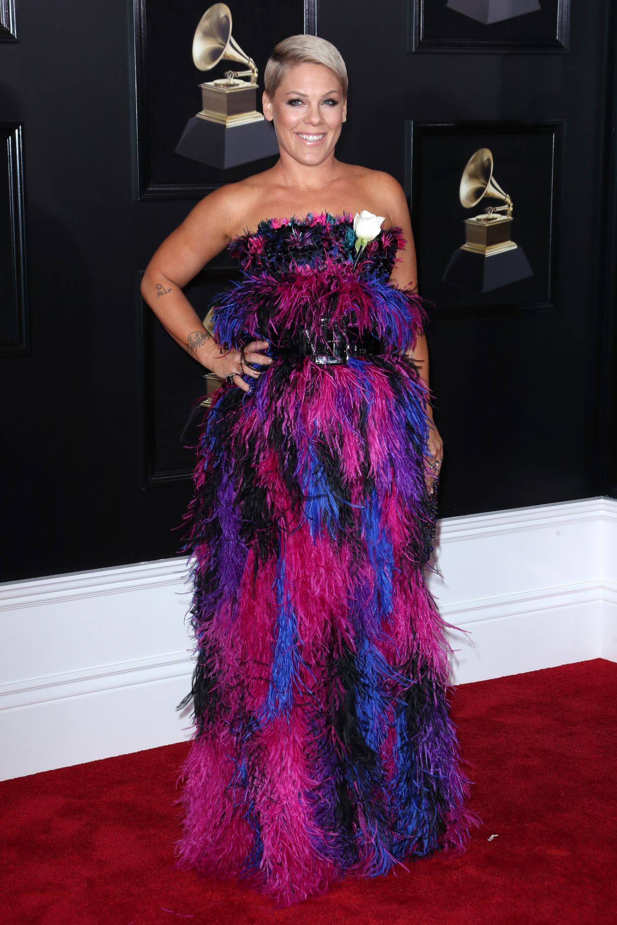 Pink At Grammy 2018 Awards In New York 01 28 2018 Hawtcelebs