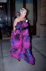 PINK Leaves Her Hotel in New York 01/28/2018