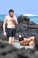 PIXIE GELDOF in Bikini on the Beach in Mauritius 12/20/2017