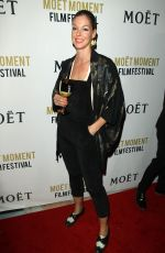 POLLYANNA MCINTOSH at 3rd Annual Moet Moment Film Festival Golden Globes Week in Los Angeles 01/05/2018