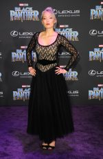 POM KLEMENTIEFF at Black Panther Premiere in Hollywood 01/29/2018