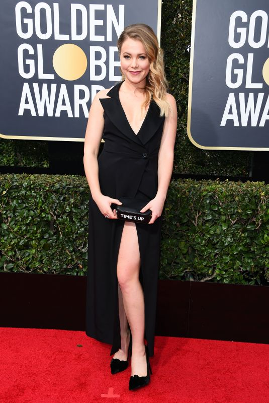 POPPY JAMIE at 75th Annual Golden Globe Awards in Beverly Hills 01/07/2018