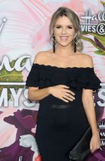 Pregnant ALI FEDOTOWSKY at Hhallmark Channel All-star Party in Los Angeles 01/13/2018
