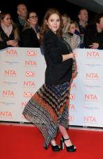 Pregnant ANGLEA SCANLON at National Television Awards in London 01/23/2018