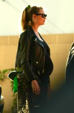 Pregnant BEHATI PRINSLOO Out in Los Angeles 01/27/2018
