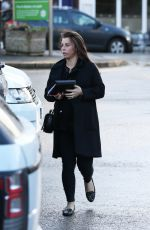 Pregnant COLEEN ROONEY Out and About at Alderley Edge in Cheshire 01/31/2018