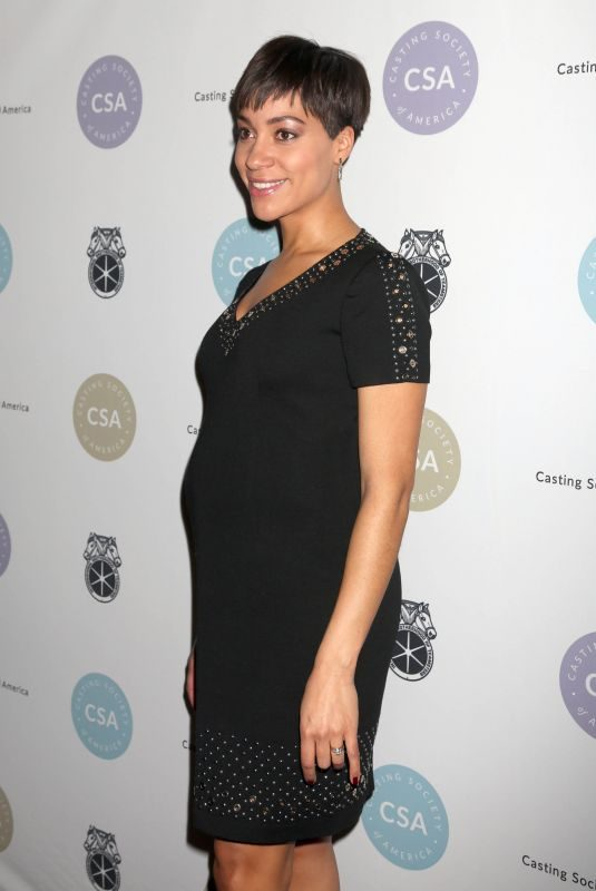Pregnant CUSH JUMBO at 2018 Artios Awards in Los Angeles 01/18/2018