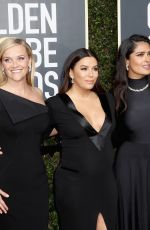 Pregnant EVA LONGORIA at 75th Annual Golden Globe Awards in Beverly Hills 01/07/2018
