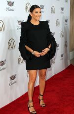 Pregnant EVA LONGORIA at Producers Guild Awards 2018 in Beverly Hills 01/20/2018