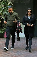 Pregnant EVA LONGORIA Leaves a Medical Clinic in Beverly Hills 01/25/2018