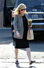 Pregnant KIRSTEN DUNST Out and About in Studio City 01/18/2018