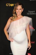 Pregnant KYM JOHNSON at 15th Annual G'Day USA Los Angeles Black Tie Gala 01/27/2018