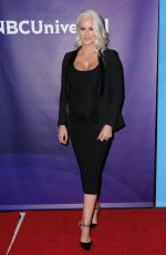 Pregnant MARYSE at NBC/Universal TCA Winter Press Tour in Los Angeles 01/09/2018