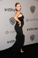 Pregnant MIRANDA KERR at Instyle and Warner Bros Golden Globes After-party in Los Angeles 01/07/2018