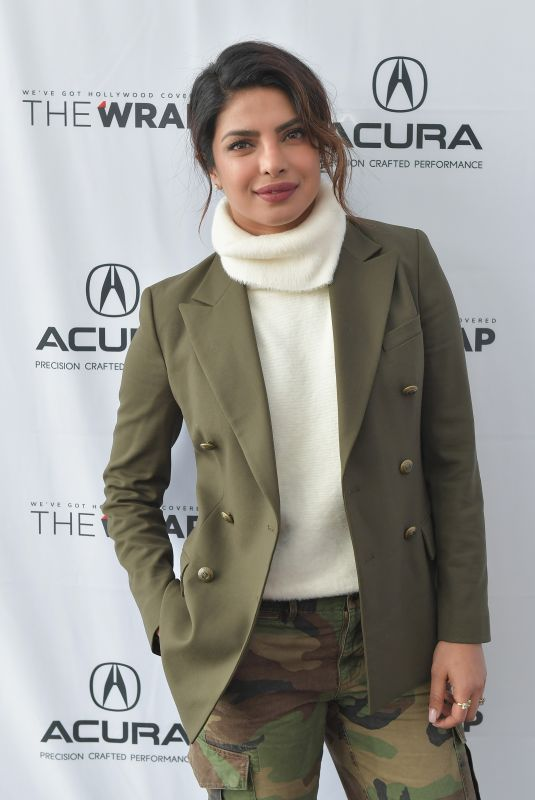 PRIYANKA CHOPRA at Acura Studio at Sundance Film Festival 01/21/2018
