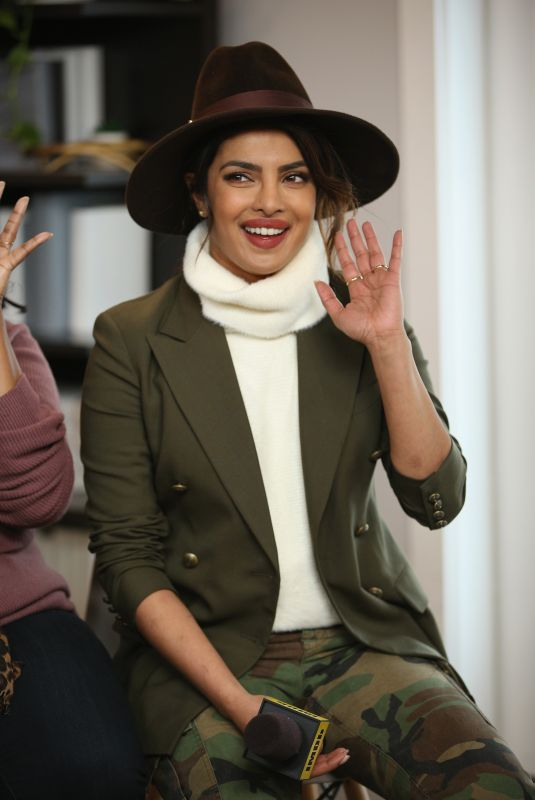 PRIYANKA CHOPRA at IMDB Studio at Sundance Film Festiva in Park City 01/21/2018