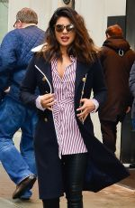 PRIYANKA CHOPRA Out and About in New York 01/11/2018