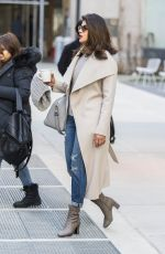 PRIYANKA CHOPRA Out and About in New York 01/31/2018
