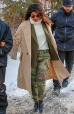 PRIYANKA CHOPRA Out at Sundance Film Festival in Park City 01/21/2018