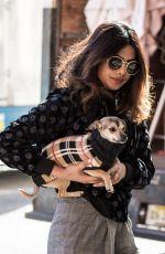 PRIYANKA CHOPRA Out with Her Dog in New York 01/26/2018