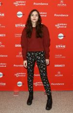 QUINN SHEPHARD at The Miseducation of Cameron Post Premiere at Sundance Film Festival 01/22/2018