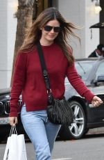 RACHEL BILSON Out for Lunch in Studio City 01/03/2018