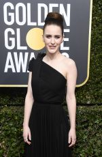 RACHEL BROSNAHAN at 75th Annual Golden Globe Awards in Beverly Hills 01/07/2018