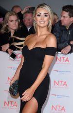 RACHEL FENTON at National Television Awards in London 01/23/2018