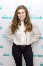 RACHEL SHENTON at This Morning Show in London 01/25/2018
