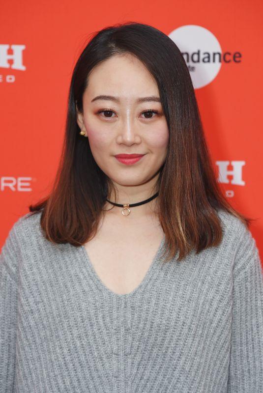 RACHEL SONG at Nancy Premiere at 2018 Sundance Film Festival in Park City 01/20/2018