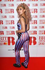 RAYE at Brit Awards Nominations Launch Party in London 01/13/2018