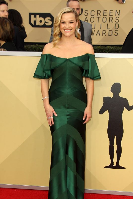 REESE WITHERSPOON at Screen Actors Guild Awards 2018 in Los Angeles 01/21/2018