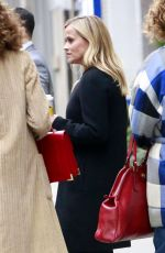 REESE WITHERSPOON at Starbucks in Los Angeles 01/29/2018