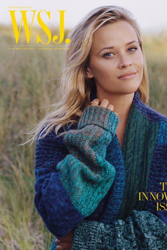 REESE WITHERSPOON for Wall Street Journal Magazine, November 2017