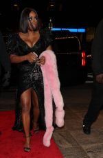 REMY MA Arrives Clive Davis Pre-Grammy Party in New York 01/27/2018